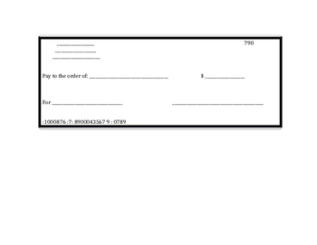 Student created checks, editable