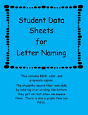 Student  data sheet for the alphabet