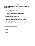 Student-friendly I.O.C. outline and guiding questions