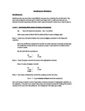 Student centered Stoichiometry worksheet - Levels 1 and 2