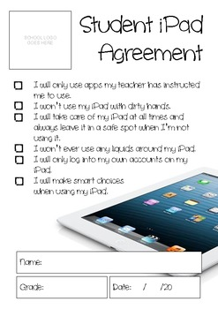 Student iPad Agreement