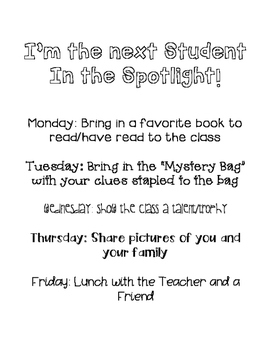 Student in the Spotlight