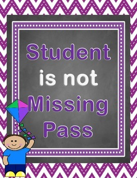 Student is Not Missing Pass