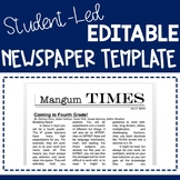 Student-led Classroom Newspaper Template