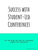 Student-led Conferences - Forms