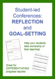 Student-led conference reflection and goal-setting