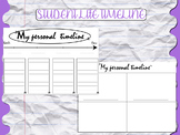 Student life personal timeline