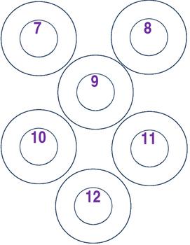 Student numbers for cubbies/desks