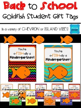 Student oFISHally Gift Tags for Back to School (Dreaming Bigger)