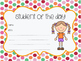 Student of the Day Certificates