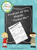Student of the Month - About Me
