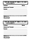 Student of the Month Nomination Form