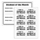 Back to School: Student of the Month Program Pack