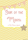 Student of the Month (Star of the Month)