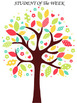 ALL ABOUT OUR CLASS TREE/STUDENT OF THE MONTH/OR SPECIAL ACHIEVEMENTS POSTERS.