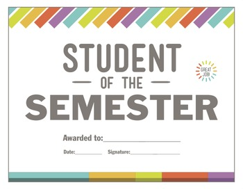 Student of the Semester