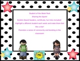 Student of the Week Bulletin Board Packet