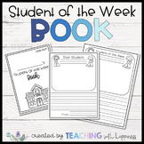 Student of the Week Class Book