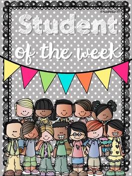 Student of the Week Classroom Display