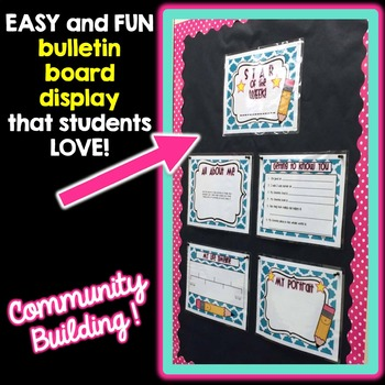 Student of the Week: Complete Bulletin Board Set!