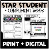 Star Student | Student of the Week | Compliment Book - Distance Learning
