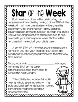 Student of the Week- Hippie Theme