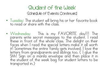 Student of the Week- Jungle Theme