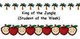 Student of the Week - King of the Jungle
