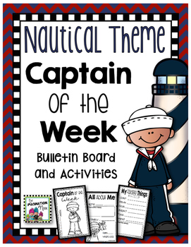 Student of the Week- Nautical Theme