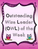 Student of the Week- OWL of the Week