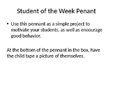 Student of the Week Pennant