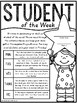 Student of the Week Poster & Parent Letter