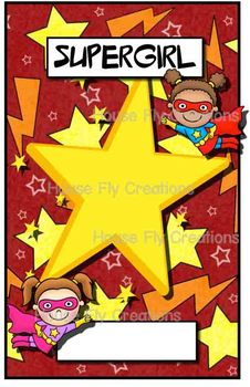 Student of the Week Posters - Superhero theme