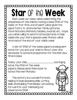 Student of the Week- Superhero Theme