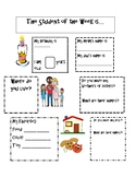 Student of the Week Template with Lesson Plan ideas Pre-K to 3rd Grade Autism