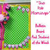 Student of the Week Tropical Flamingo Theme