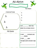 Student of the Week- frog theme pdf