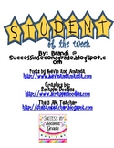 Student of the week Printable Poster
