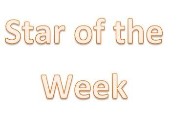 Student of the week display
