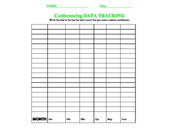 Student or Teacher Data Tracking and Assessment Graphs