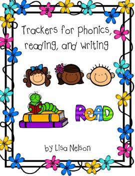 Student progress tracker: phonics, reading, writing/language arts