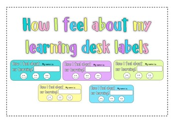 Student reflection labels