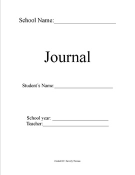 Student's Journal