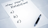Student's New Years Resolution