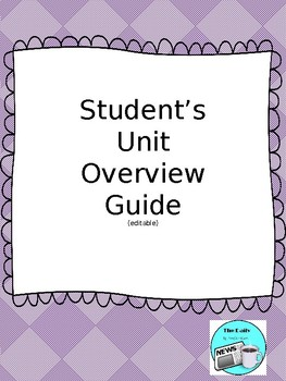 Student's Unit Overview Guide