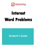 Student's guide to Interest word problems