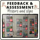 Student self assessment and teacher feedback slips