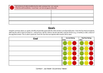 Goal Setting - Student Directed