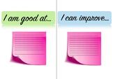 Student self assessment sheet