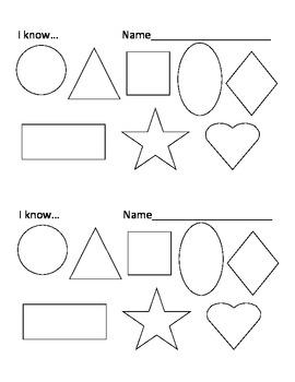 Student self-check (Preschool)
